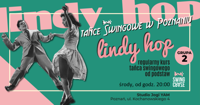Regularny kurs Lindy Hop od podstaw, grupa 2 o 20:00 jesień 2019