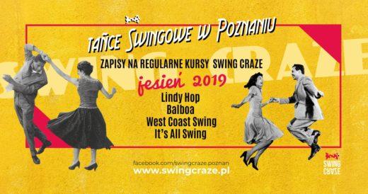 Zapisy na regularne kursy SWING CRAZE, jesień 2019