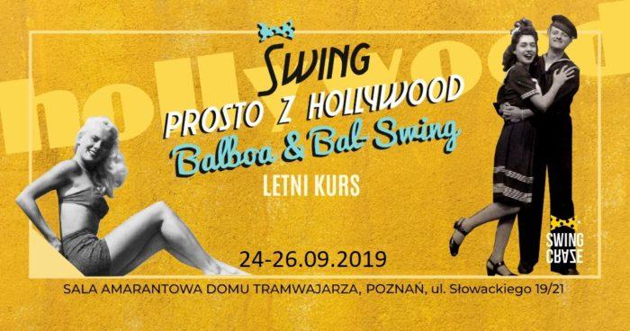 """Letni Kurs Tańca """"Swing prosto z Hollywood"""""""