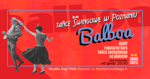poniedziałki 20:00-21:15 | NOWY kurs Balboa od podstaw (start: 13.01.2020)