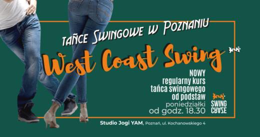 poniedziałki 18:30-19:45 | NOWY Kurs West Coast Swing od podstaw (start: 13.01.2020)