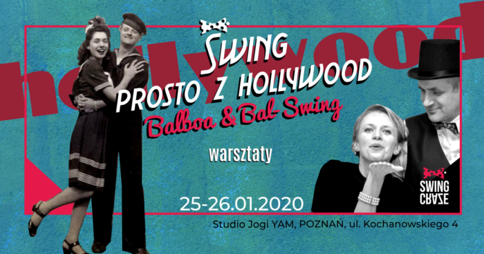 "25-26.01.2020 | Warsztaty Balboa ""Swing prosto z Hollywood"""